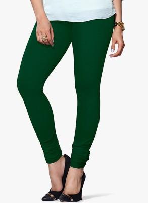 Saree Exotica Women's Green Leggings