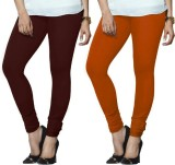 Arma Women's Maroon, Orange Leggings (Pa...