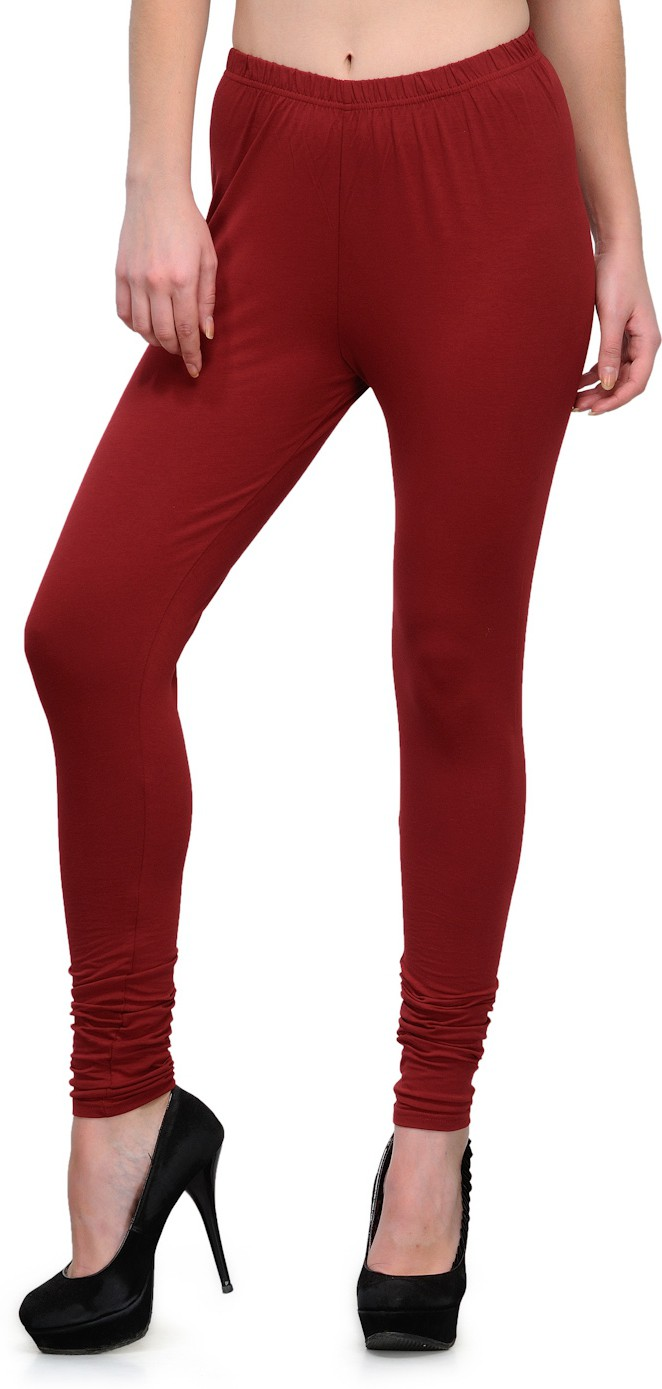 Ffu Womens Maroon Leggings