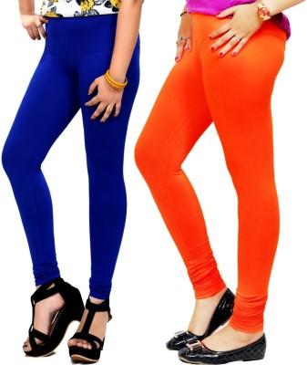 By The Way Women's Blue, Orange Leggings