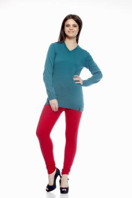 Shopping Queen Women's Red Leggings