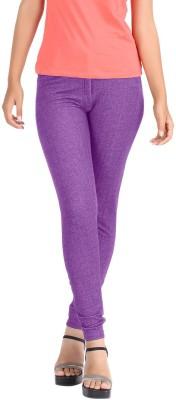 Hbhwear Women's Purple Jeggings