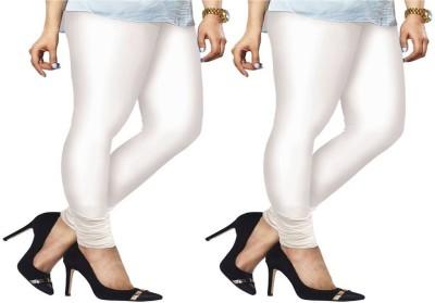 ambey shree trendz Women,s White, White Leggings