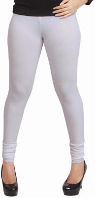 Lequeens Women's White Leggings