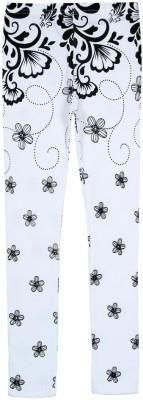 Jazzup Girl's White Leggings