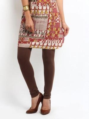 Amoya Women's Brown Leggings at flipkart