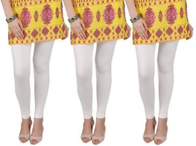 Bembee Women's White Leggings