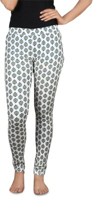 Sale Mantra Women's White, Blue Jeggings
