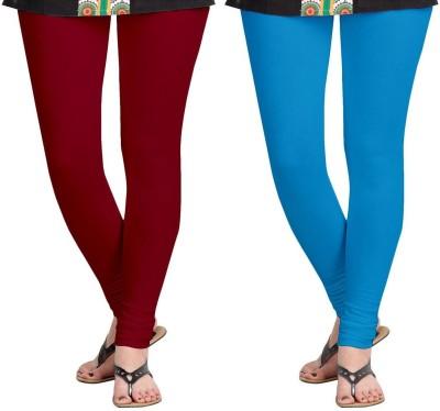 AF Sayonara Women's Maroon, Blue Leggings