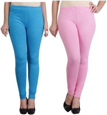 Ahhaaaa Women's Blue, Pink Leggings