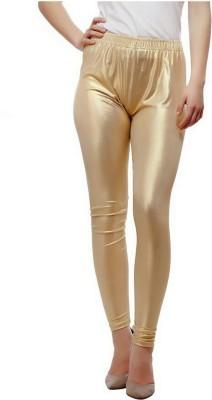 Emblazon Women's Gold Leggings