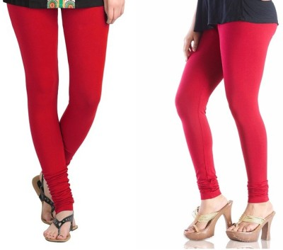 TheEmpire Women's Red, Pink Leggings