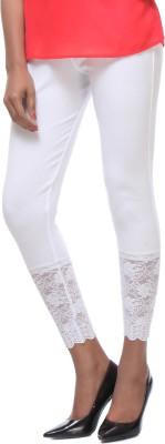 Urban Diseno Women's White Leggings