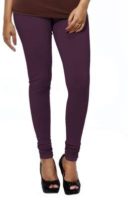PeacockFashionz Women's Purple Leggings