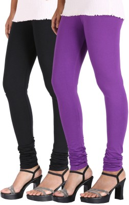 Greenwich Women,s Black, Purple Leggings