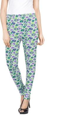 Roopsi Women's Green Leggings