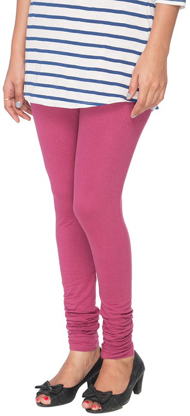 Panno Womens Pink Leggings