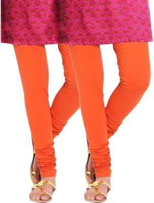 divine creations Women,s Orange Leggings
