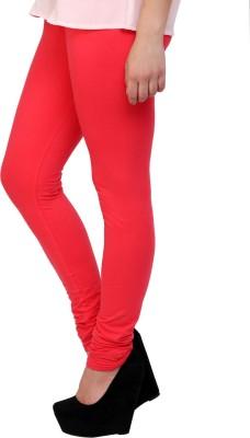 Scorpio Fashions Women's Orange Leggings