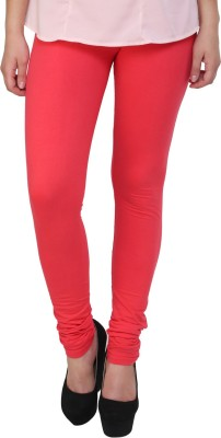 Hashcart Women's Orange Leggings