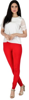 Legrisa Fashion Women's Red Leggings