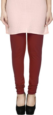 Fizzaro Women's Maroon Leggings
