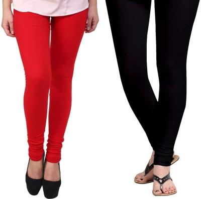 Vastra Buzz Women's Red, Black Leggings