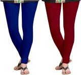 Zacharias Women's Blue, Maroon Leggings ...