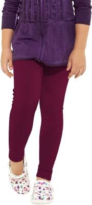Go Colors Girl's Purple Leggings
