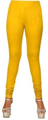 The perfect comfort Women's Yellow Leggings