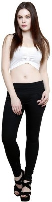 SEE CORAL Women's Black Jeggings