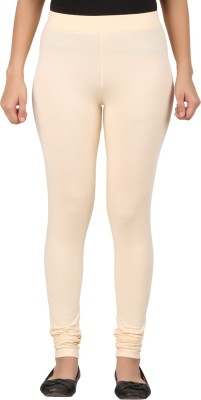 TECOT Women's Beige Leggings