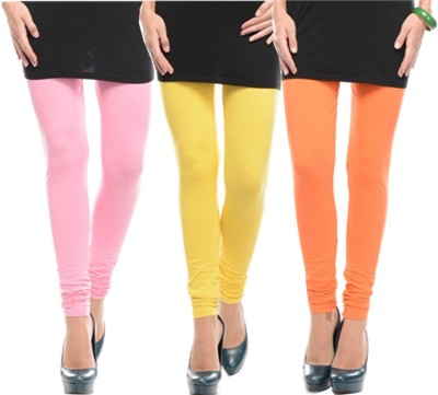 Stay Blessed Women's Orange, Yellow, Pink Leggings