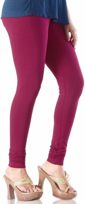 vivancreation Girl's Maroon Leggings