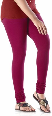 shreemangalammart Girl's Maroon Leggings
