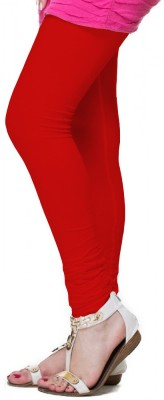 OrganicO Women's Red Leggings