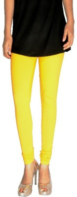 Tanunni Women's Yellow Leggings