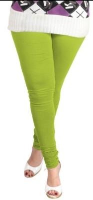 V Brown Women's Light Green Leggings