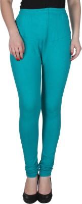 Ajaero Women's Light Green Leggings