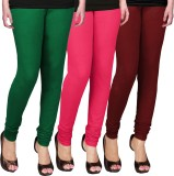 WCTrends Women's Green, Pink, Maroon Leg...