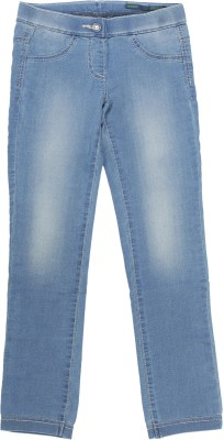 Coffee Bean Girl's Light Blue Jeggings
