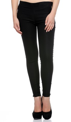 Fasnoya Women's Black Jeggings