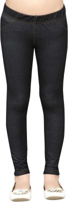 Greenwich Girl,s Black Jeggings