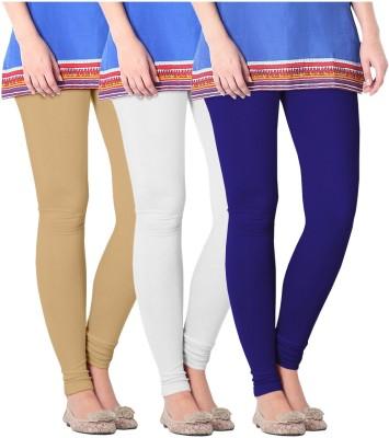 Nice Fit Women's Purple, White, Beige Leggings