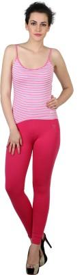 Twin Birds Women's Pink Leggings