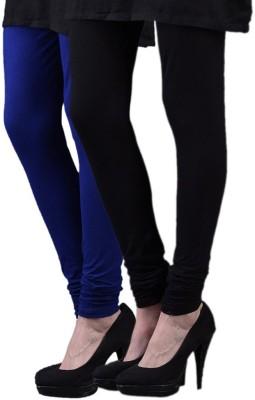 divine creations Women,s Black, Blue Leggings