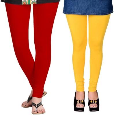 ZACHARIAS Women's Red, Yellow Leggings