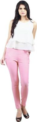 Haniya Women,s Pink Jeggings
