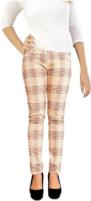 Parv Collections Women,s Beige Jeggings
