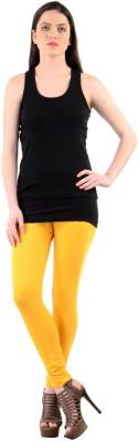 Mynte Women's Yellow Leggings